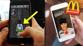 Mä Oon Kännykkäpelissä?! Mäkkäri Hakee Työntekijöitä Snapchatissa!