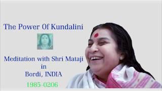 1985 Meditation with Shri Mataji in Bordi, India (English Subtitle)