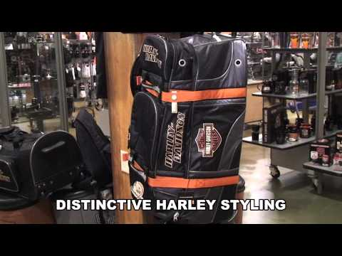 Harley Davidson Screamin' Eagle Motorcycle Luggage Bag for Sale