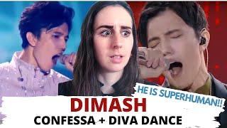 DIMASH - DIVA DANCE and Confessa (The Singer vs BASTAU)