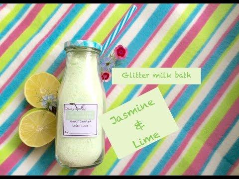 Organic bath milk recipe