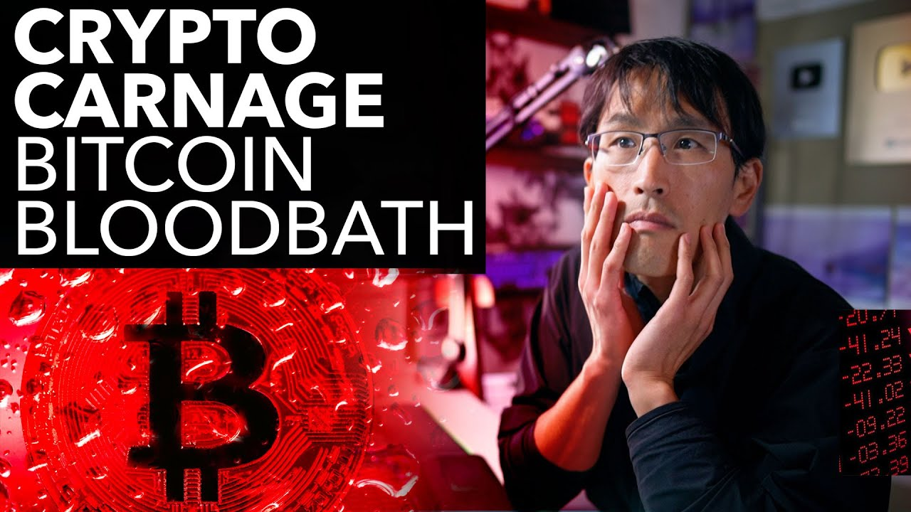 CRYPTO CARNAGE. BITCOIN BLOODBATH.  Why it's not coming back.
