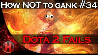 Dota 2 Fails - How NOT to gank #34