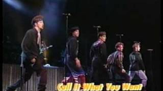 ① Call It What You Want Live In Providence Opening - New Kids On The Block