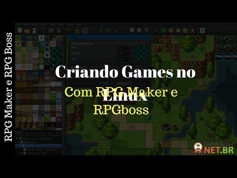 Criando Games no Linux com Engines RPG