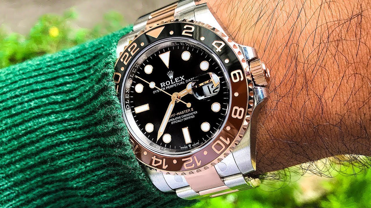 7fd6bcb503e ROLEX Two-Tone GMT II Root Beer - A Great Choice for Two-Tone Lovers ! CRM  Jewelers
