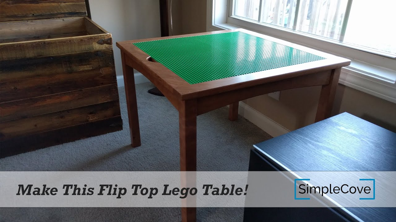 Merveilleux How To Make A Lego Table