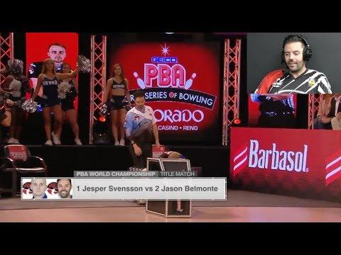Player's Perspective: Jason Belmonte on the 2017 PBA World Championship