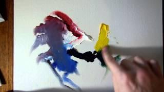 Как начать рисовать маслом. Краска, цвета, кисти, растворитель.(Рассказываю с чего начать если вы хотите начать рисовать маслом. Что купить. Основы смешивания цветов. Фирм..., 2014-12-22T17:19:34.000Z)