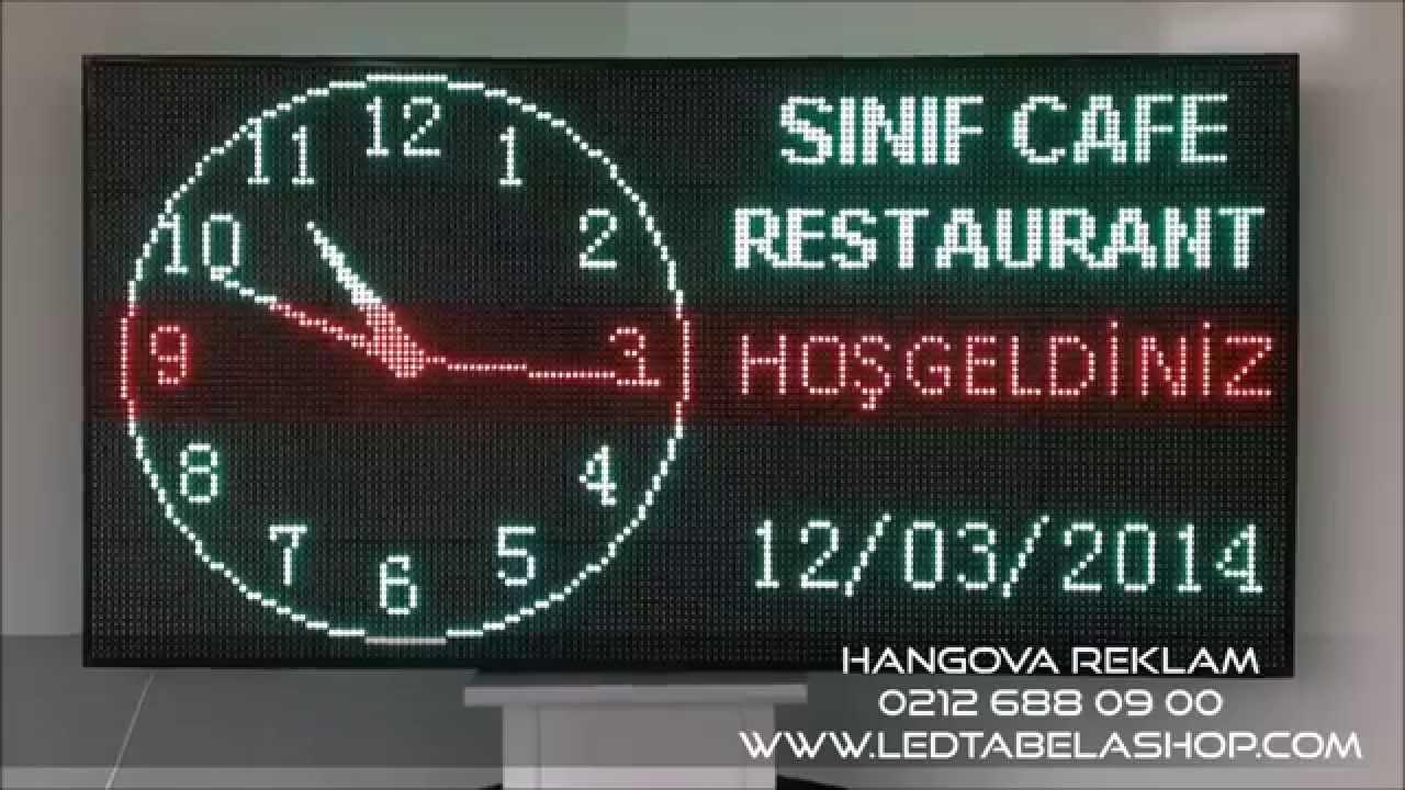 Yeşil - Kırmızı Led Tabela Hangova Reklam & Led