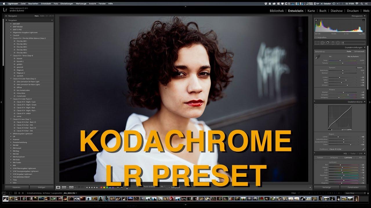Kodachrome Lightroom