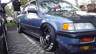 loud and low honda civic lx- modifikasi radikal grand civic lx