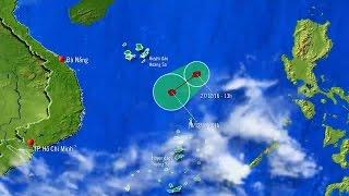 Tin Bão Mới Nhất Hôm Nay: Bão Số 10 tiếp tục đi sâu vào Biển Đông