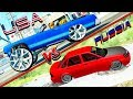 USA vs RUSSIA - Funny Differences - Beamng drive (funny crashes)