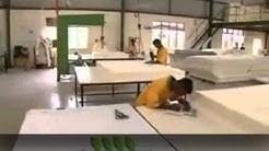 Natural Latex Mattress Production Start to Finish