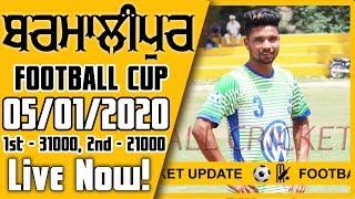 LIVE BARMALIPUR FOOTBALL CUP 05 01 2020