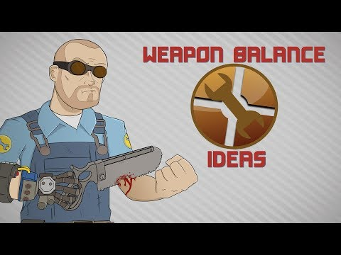 TF2 Weapon Balance Ideas: Engineer & Post Jungle Inferno