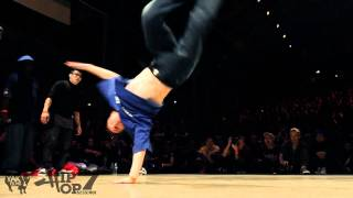 KNUCKLEHEADS CALI vs PREDATORZ   Hip Opsession 7 Bboy 3on3 Semi Final Battle 2011
