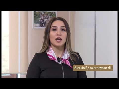"""""""Dərs vaxtı"""": 6-cı sinif dərsləri  (19.03.2020)"""
