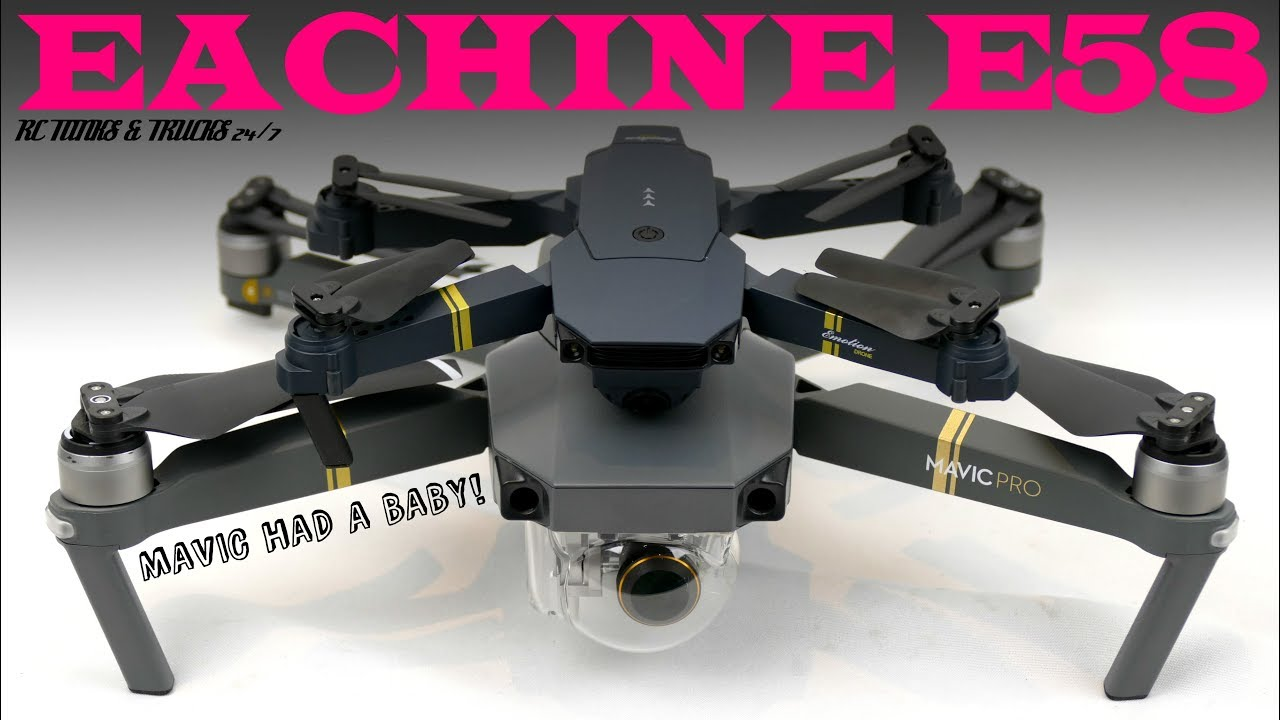 EACHINE E58 WIFI FPV Attitude Hold Drone