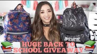 HUGE BACK TO SCHOOL GIVEAWAY 2018 | OPEN INTERNATIONAL |
