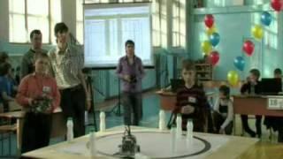 Первая олимпиада по робототехнике Алтайского края.