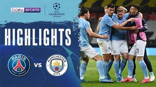 巴黎聖日耳門 1:2 曼城   Champions League 20/21 Match Highlights HK