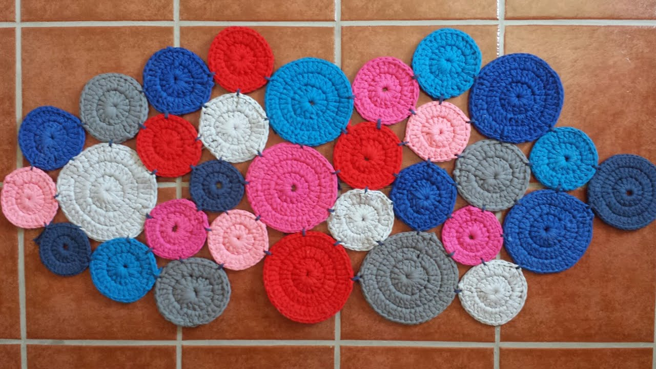 Alfombra matem tica carpet matematics diy youtube - Como hacer alfombras con trapillo ...