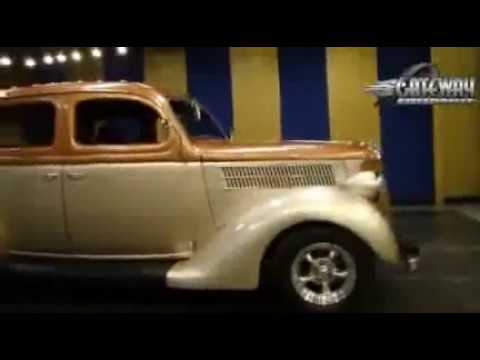 1936 Ford Sedan street rod for sale at Gateway Classic Cars in our St   Louis showroom