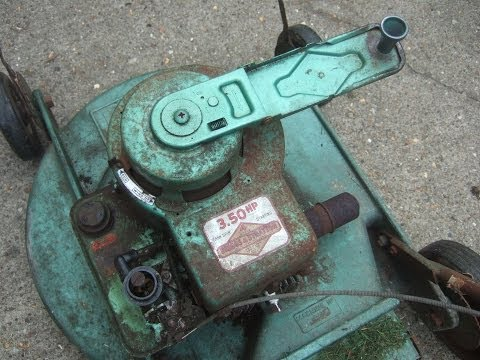 1966 Briggs And Stratton Original Wind Up Starter