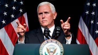 U.S. VP announces Space Force plan