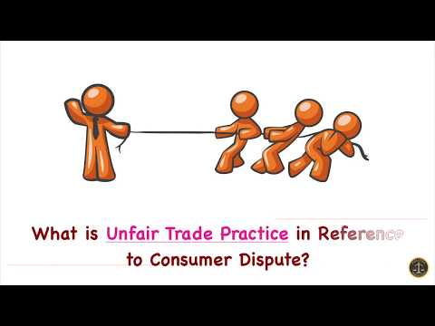 What is Unfair Trade Practice in Reference to Consumer Dispute?