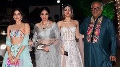 Sridevi With HOT Daughters Jhanvi & Khushi Kapoor At Shilpa Shetty's Diwali Party
