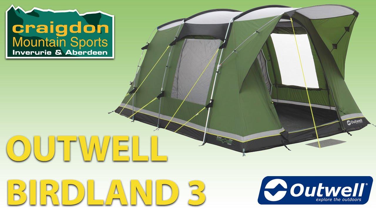 Craigdon Mountain Sports - Outwell Birdland 3  sc 1 st  YouTube & Craigdon Mountain Sports - Outwell Birdland 3 - YouTube
