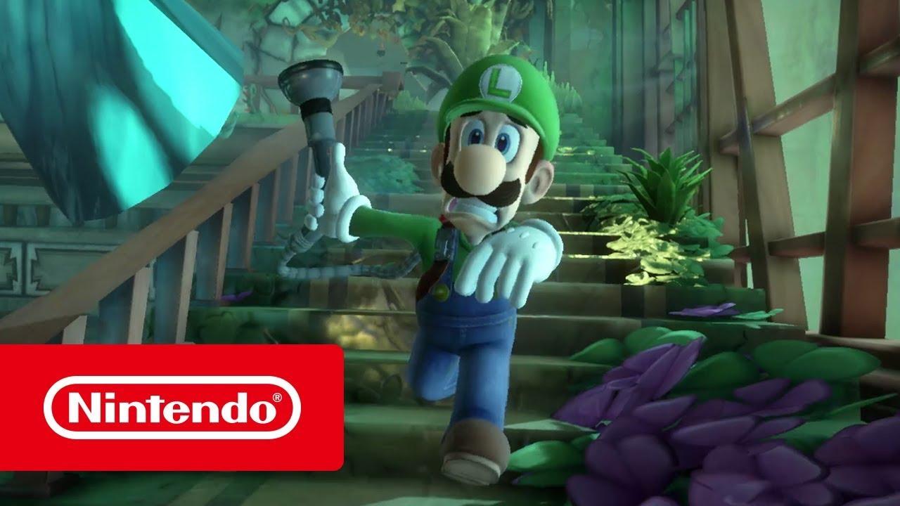 Luigi S Mansion 3 Bande Annonce De Presentation Nintendo Switch