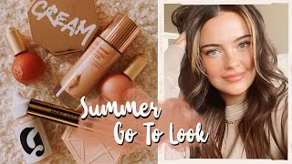 My Updated 10-15 Minute EVERYDAY MAKEUP 💕 | Julia Adams
