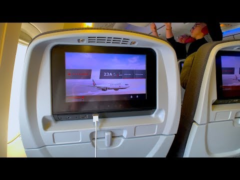 Air Canada Boeing 777-300ER Economy Class REVIEW | Vancouver - Hong Kong AC007
