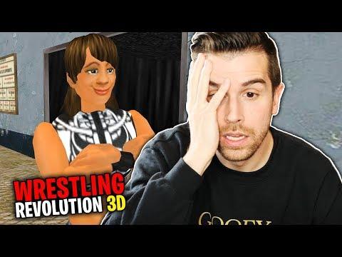 AJ LEE'S PROPOSAL!! | WR3D Career Mode (Wrestling Revolution 3D)