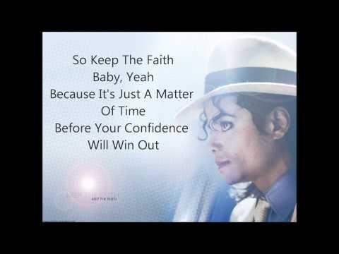 Keep The Faith  Michael Jackson w lyrics