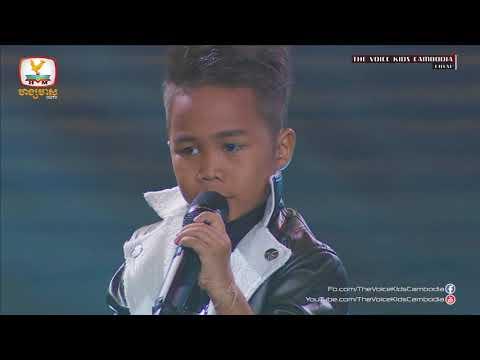 Pech Thai - Ah Net Meas Bong (Live Show  Final | The Voice Kids Cambodia 2017)