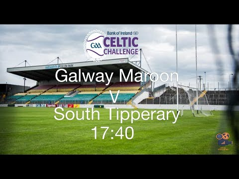 Galway Maroon V South Tipperary - Celtic Challenge Finals 2017
