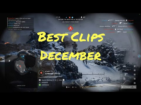 My Best Clips of the Month - December 2018 | Battlefield 5