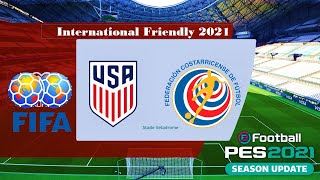 United states vs costa rica international friendly 2021#unitedstates #costarica #internationalfriendly #pes21 #ps4 #pes2021 #ps5donate only u gaming to suppo...