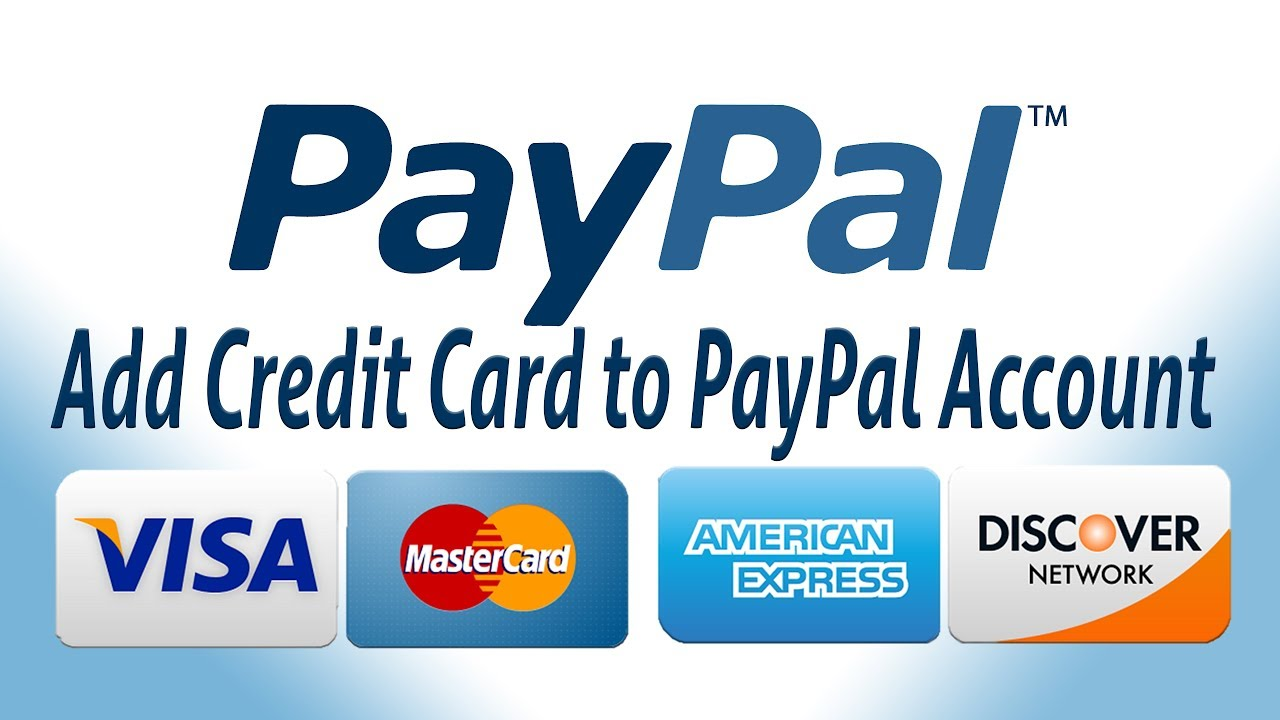 Add Credit Card to PayPal Account - YouTube