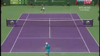 my favorite two handed backhands wta
