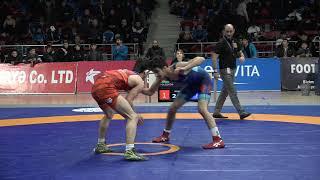 1/8 final FS - 55 kg: Nicat Vəlizadə (AZE) - Elmir Cəbiyev (AZE)