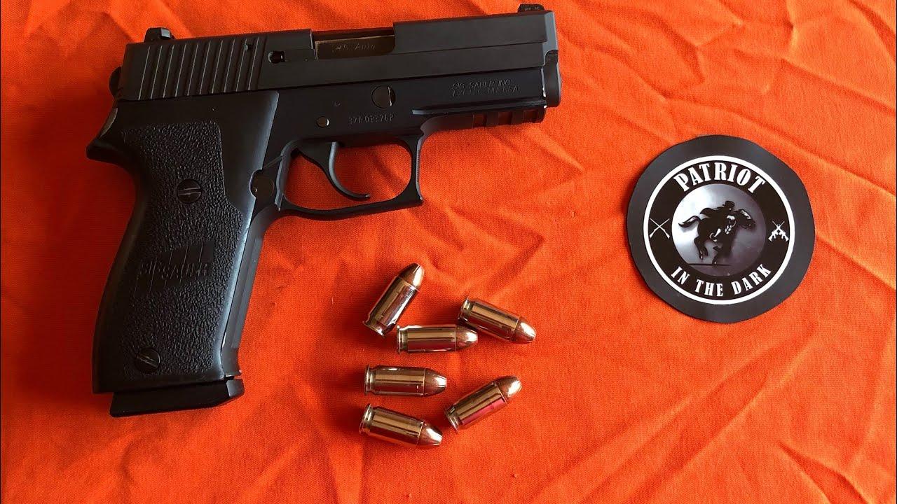 Sig Sauer P220 DAK 45acp * Double Action Kellerman * Pt 1 Descriptive Overview * PITD