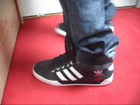 2e51848ab6063d Adidas Hardcourt Hi - YouTube