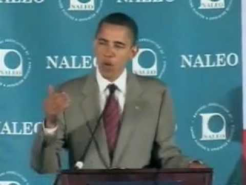 NALEO 2008: Barack Obama - Question 3