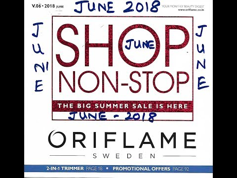 Oriflame June Catalog 2018 - Quick View   HD Catalog